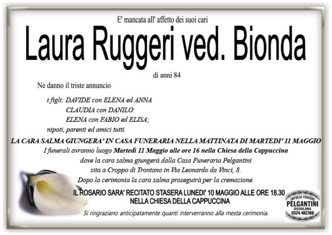 bionda in RUGGERI