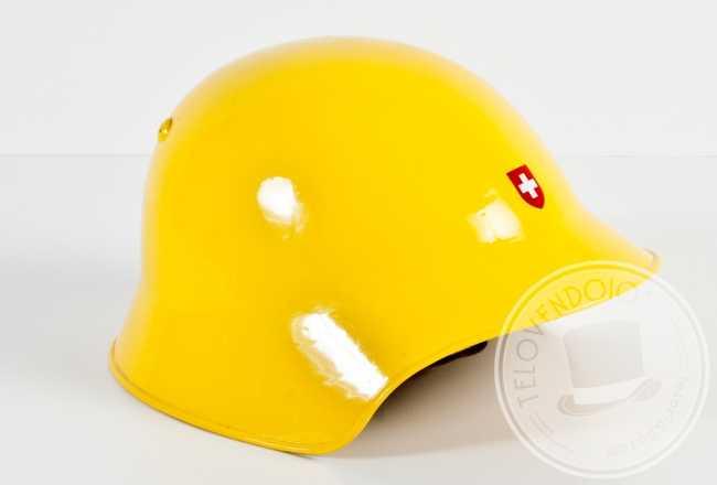 casco giallo