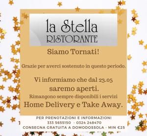 La Stella Ristorante - Siamo Tornati!