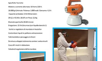 a sanificazione con nebulizzatore 1