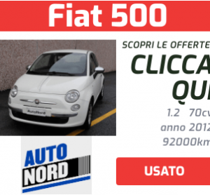 Fiat 500 Usata- Autonord
